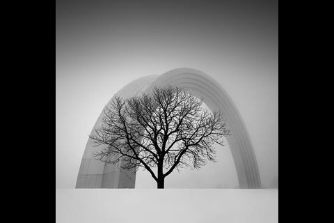 People's Friendship Arch by Oleksandr Nesterovskyi
